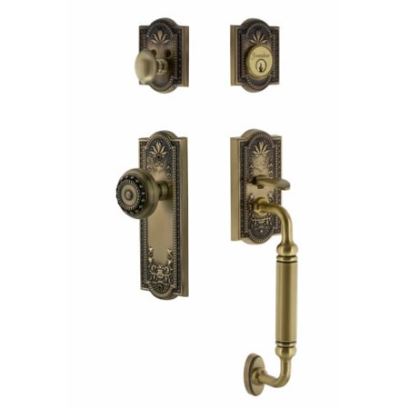 Nostalgic Warehouse Meamea Eset 234 Cg Meadows Solid Brass Sectional Single Cyli