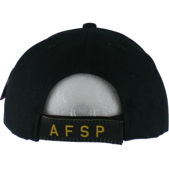 Air Force Security Police Shadow Mens Cap [Black - Adjustable]