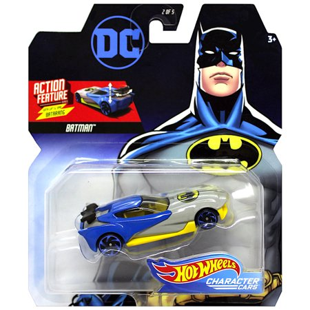 Batman Action Feature with Lift & Spin Batarang Hot Wheels 1:64 (Spin Lift)