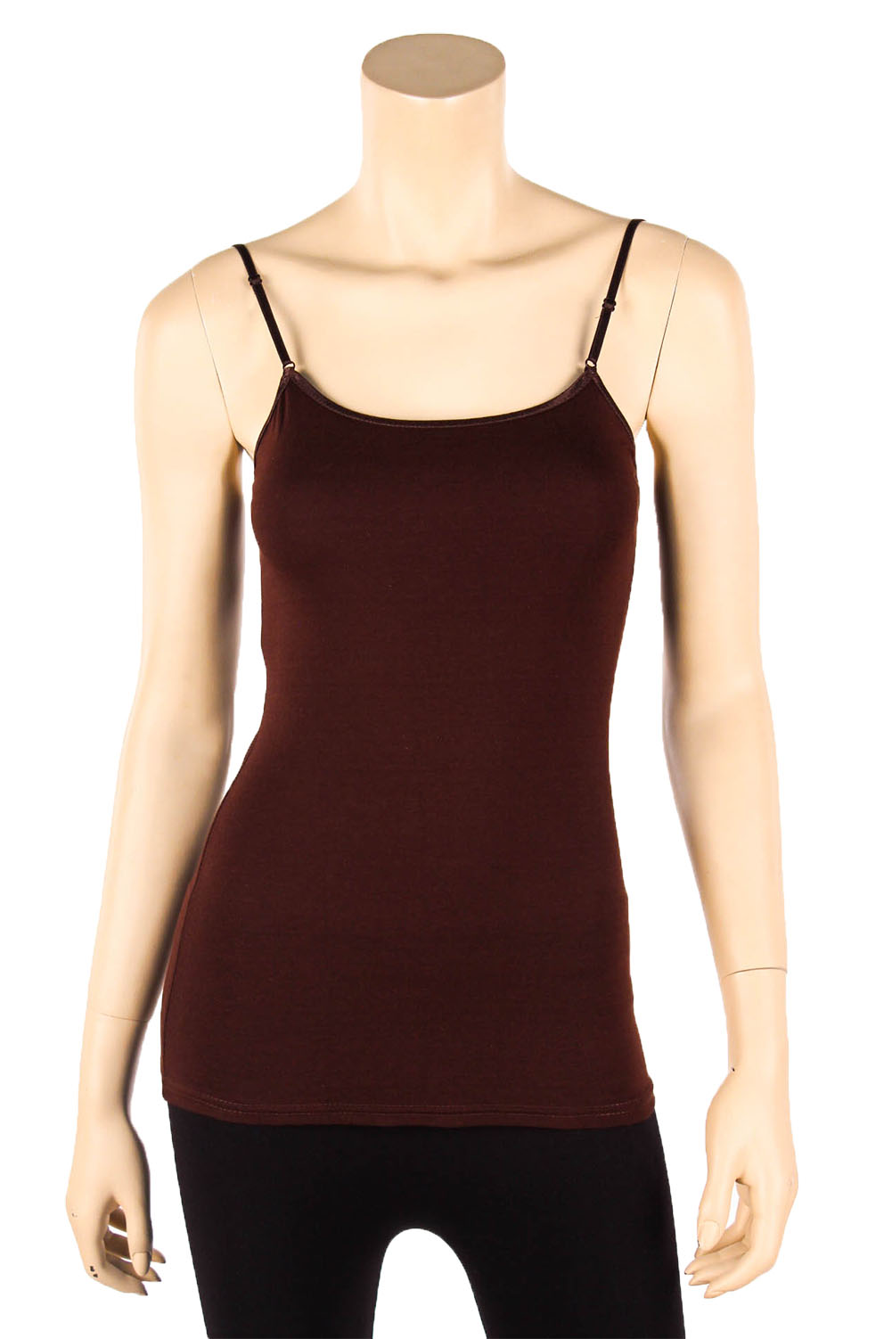 Mopas Women's Cotton Camisole Cami Long Tank Top