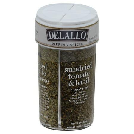 De Lallo Dipping Spices, 4 count, 3.31 oz (Dipping Spice)