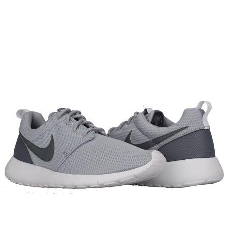 dd10e3c6649b Nike - Nike Roshe One (GS) Wolf Grey Cool Grey-White Big Kids Running Shoes  599728-028 - Walmart.com