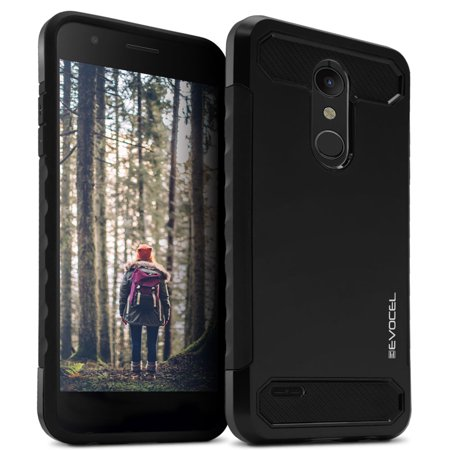 - LG K30 Case, Evocel [Dual Lite Series] with a Slim Lightweight Profile and Matte Finish for LG K30 / LG K10 (2018) / Premier Pro LTE, Black