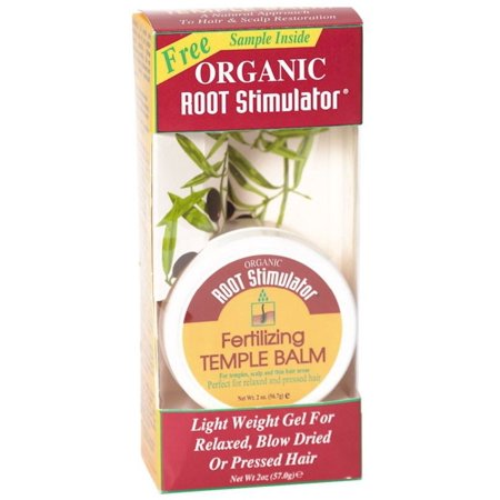 Organic Root Stimulator Fertilizing - Organic Root Stimulator Fertilizing Temple Balm, 2 oz (Pack of 2)