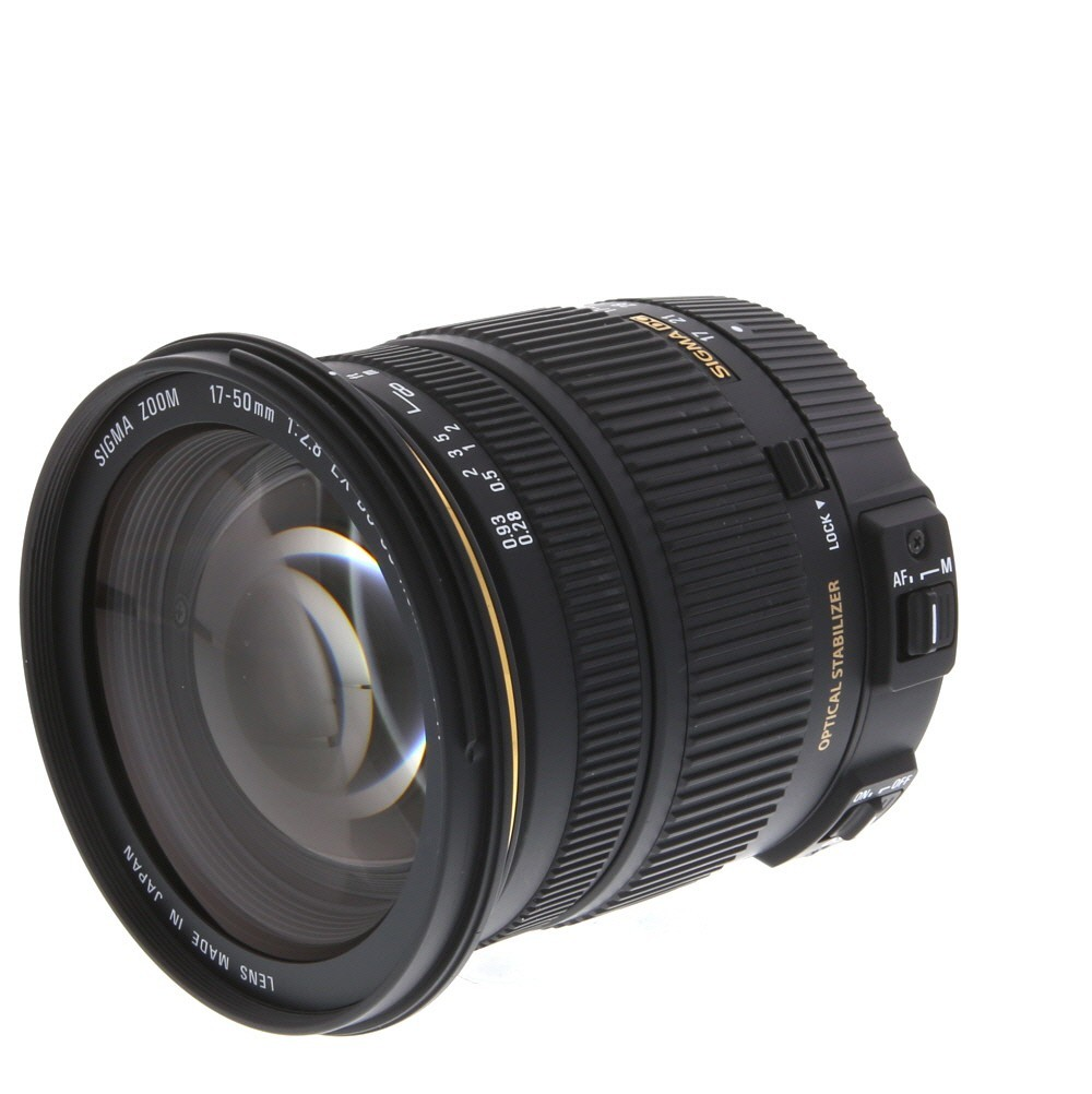 Sigma 17 50mm F 28 Ex Dc Os Hsm Zoom Lens For Canon Eos Digital Dg Macro