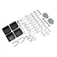 DURAHOOK 76964 Pegboard Hook Assortment Kit,Welded
