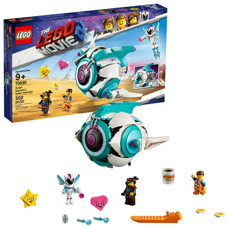 LEGO Movie Sweet Mayhem's Systar Starship! 70830 Starship Toy Building Set