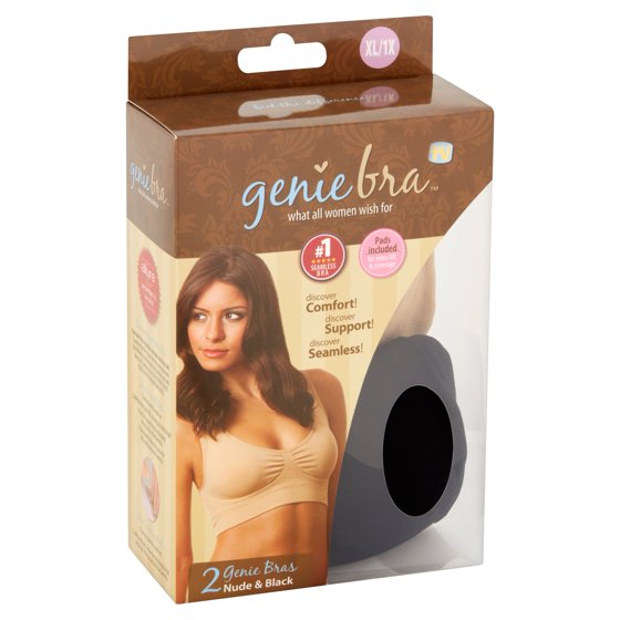 c05ae33abb As Seen on TV - Genie Bra Nude   Black XL 1X Bra