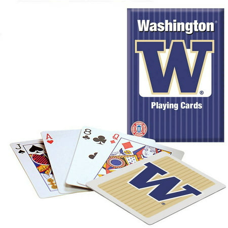 Officially Licensed NCAA Washington Playing Cards