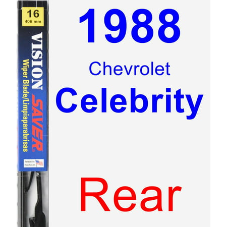 1988 Chevrolet Celebrity Rear Wiper Blade - Vision Saver