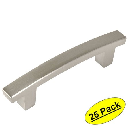 Cosmas 5235SN Satin Nickel Contemporary Cabinet Hardware Handle Pull - 3