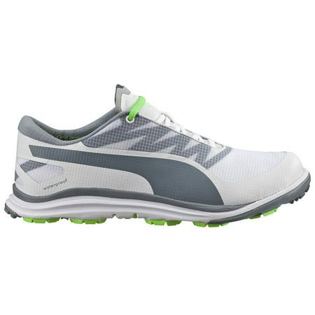 New Mens Puma BIODRIVE Golf Shoes White/Tradewinds/Green Sz 9.5 M - Retail $140 ()