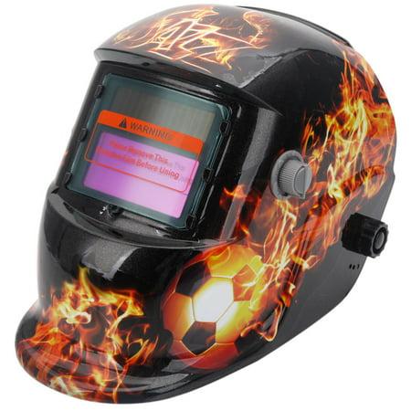Zimtown Solar Power Auto Darkening Welding Helmet Variable Shade Range 4/9-13 Mask Grinding Welder Protective Gear Arc Mig Tig