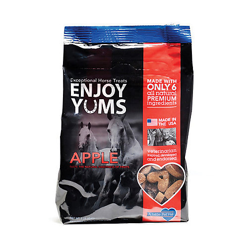 Enjoy Yums Horse Treats 1 lb Mint