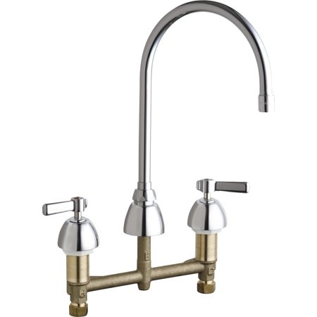 commercial grade kitchen faucets chicago faucets 201 agn8ae3ab chrome commercial grade high arch kitchen faucet walmart com 266