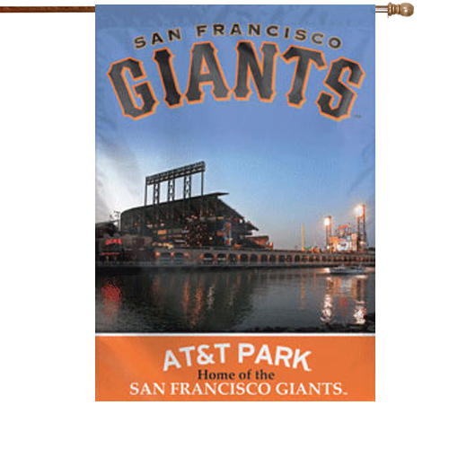 San Francisco Giants Double-Sided 28'' x 40'' Banner - No Size