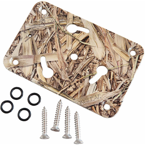 Panther King Pin Shallow Water Anchor System, Spare Bow Mount Base Kit Only, Camoflauge
