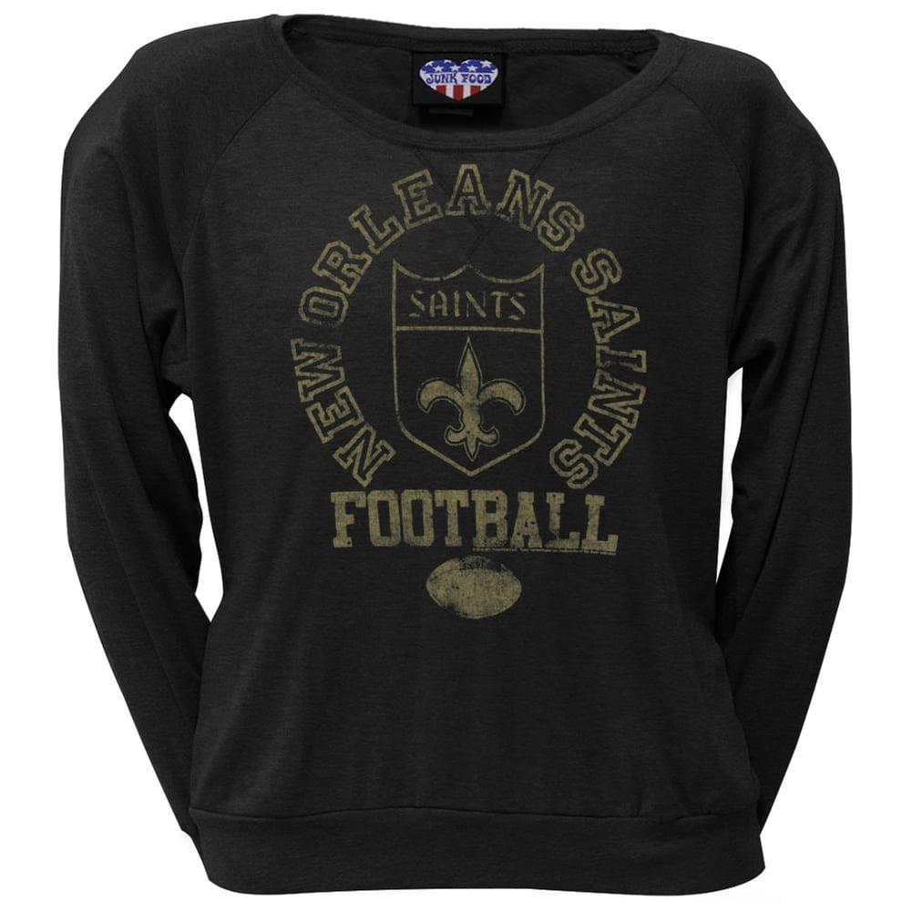 New Orleans Saints - Vintage Logo Juniors Long Sleeve T-Shirt