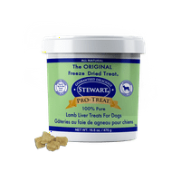 Stewart Pro-Treat Freeze Dried Lamb Liver, 16.8 oz. Tub