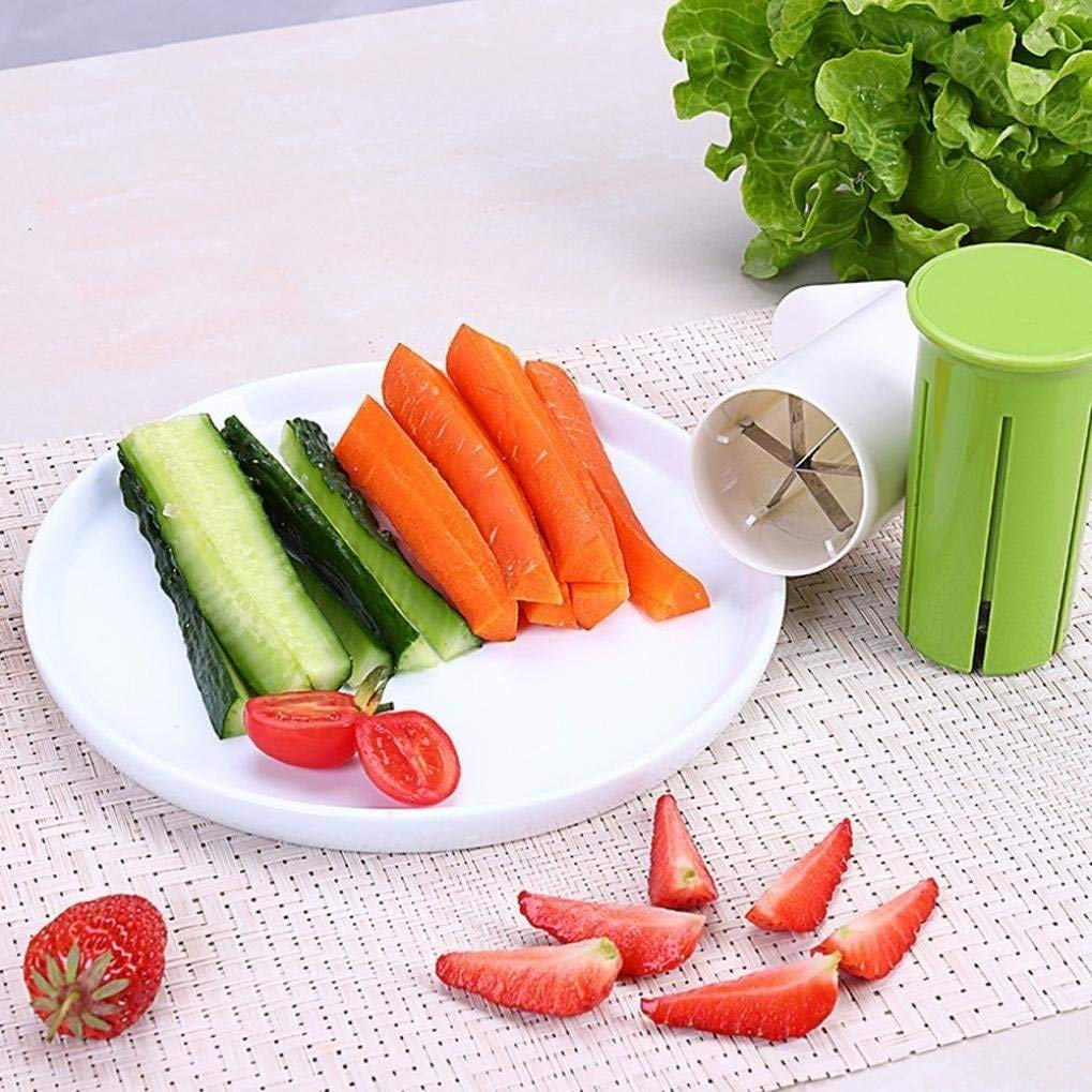 Jeobest 1PC Fruit Vegetable Slicer Dicer Fruit Vegetable Slicer Cucumber Slicer Cutter... by Jeobest