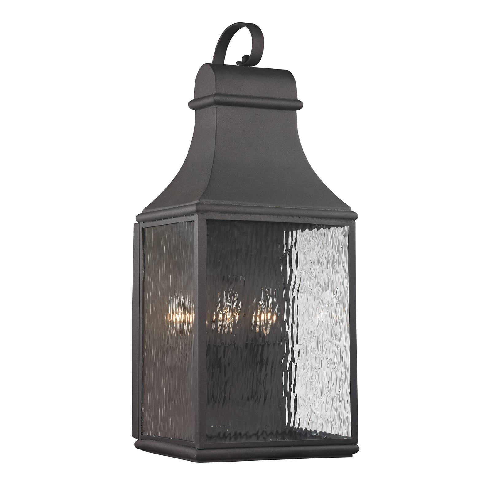ELK Lighting Forged Jefferson 4707 3-Light Outdoor Wall Sconce by Elk