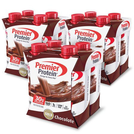 (2 pack) Premier Protein Shake, Chocolate, 30g Protein, 11 Fl Oz, 12 (Best Protein Food For Women)