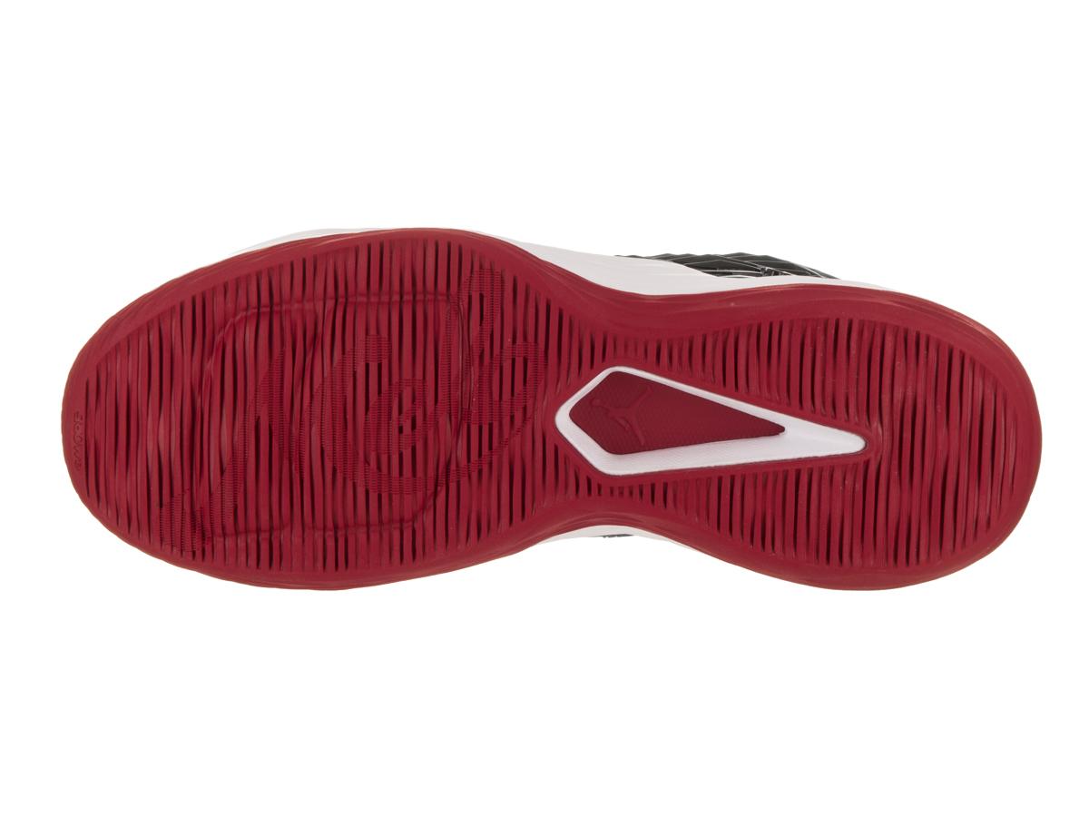 71990e2e2cea Jordan - Mens Air Jordan Melo M13 Black White Anthracite Gym Red 881562-002  - Walmart.com