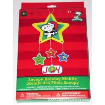 Peanuts Holiday Mobile Santa Snoopy Joy Party Decoration