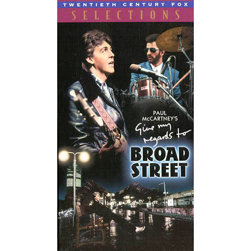 Give My Regards To Broad Street (1984) Music VHS Tape