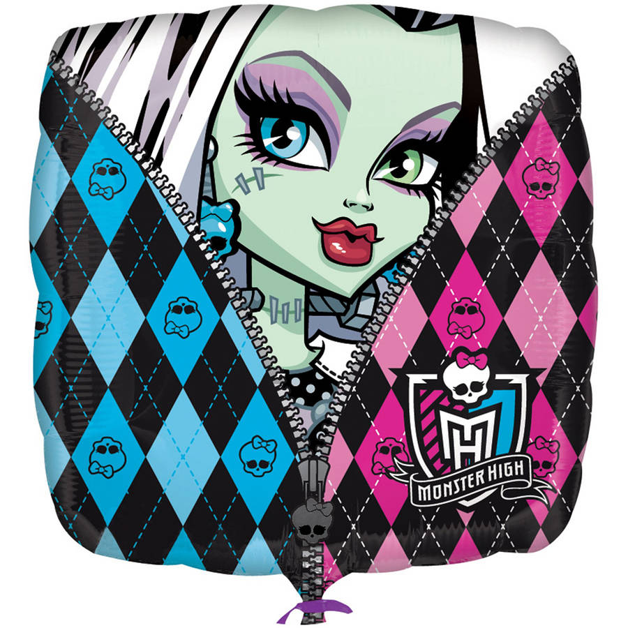 "Monster High Characters 18"" Foil Balloon"
