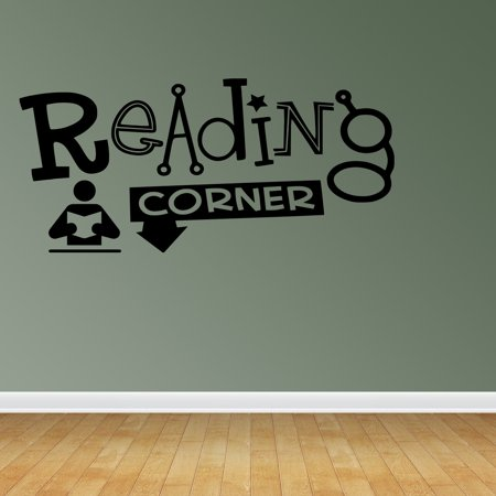 Wall Decal Quote Reading Corner Library School Elementary Teacher Family R6 - Halloween Teacher Appreciation Quotes