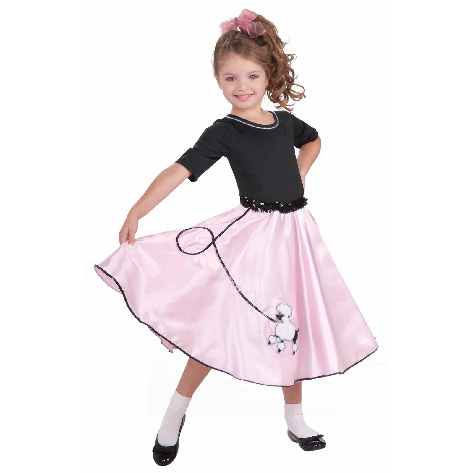 Pretty Poodle Princess Child Costume