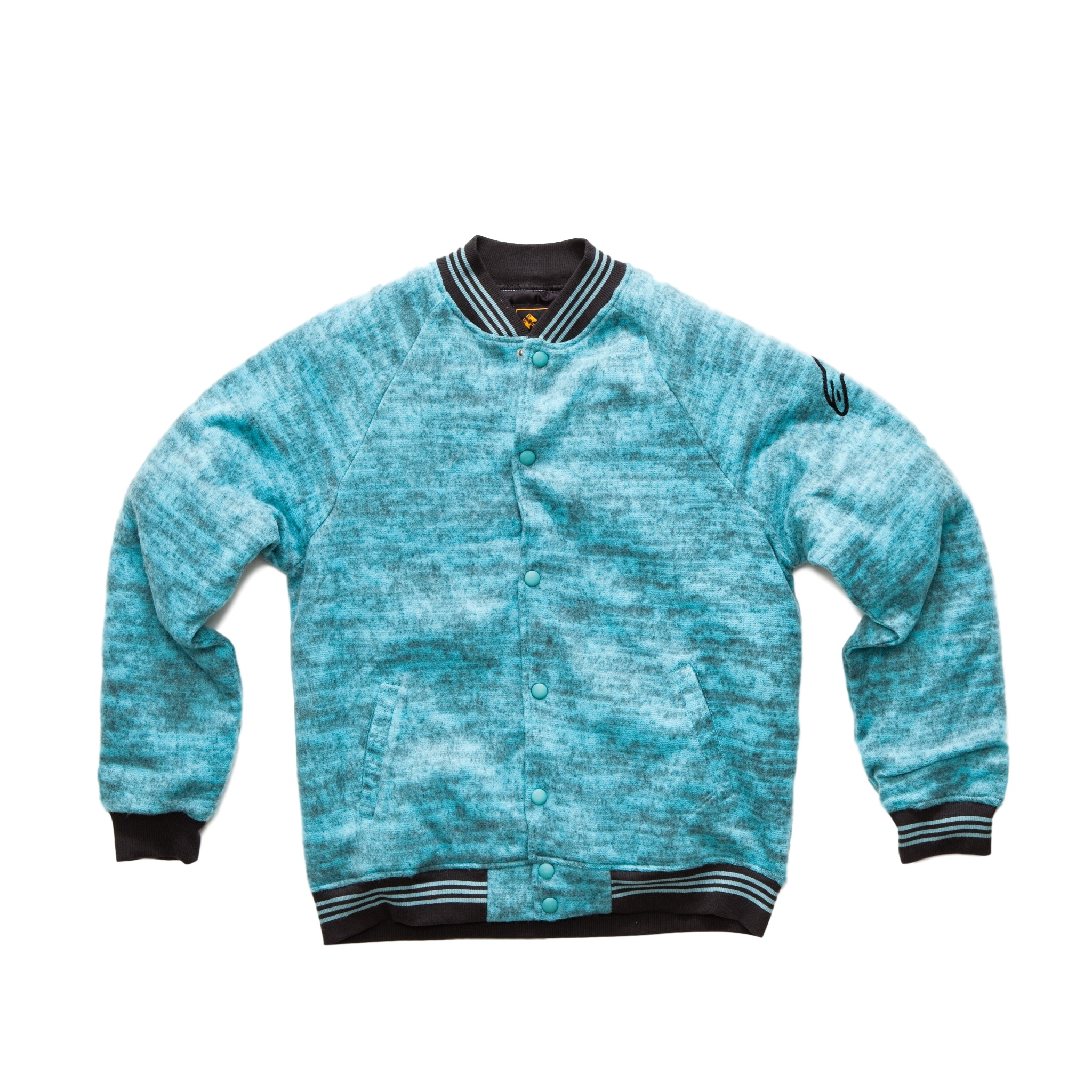 Alpinestars Mens CORSAIR Wool Blend Jacket Motocross, Large, Blue