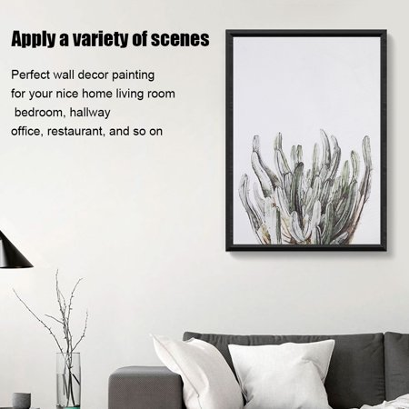 Dilwe Plants Leaves Canvas Wall Art Printing Poster Modern Home Room