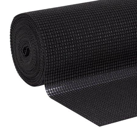 EasyLiner Select Grip 20 In. x 24 Ft. Shelf Liner, Black ()