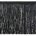 """Expo Int'l 12"""" Metallic Chainette Fringe Trim by the yard"""