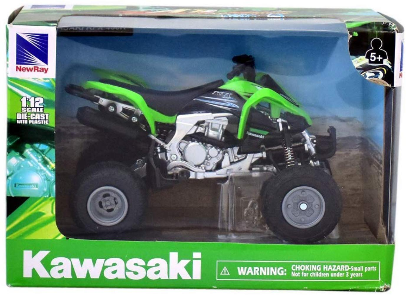 New Ray Toys 57503 1:12 Scale ATVs