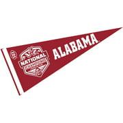 "alabama crimson tide 2015 football champions 12"" x 30"" felt college pennant"