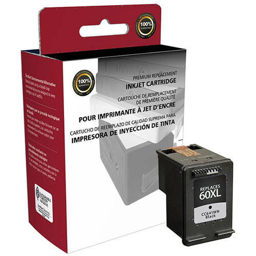 CIG Remanufactured High Yield Black Ink Cartridge (Alternative for HP CC641WN 60XL) (600 Yield)