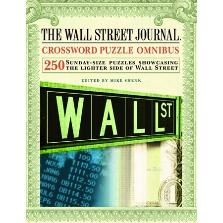 The Wall Street Journal Crossword Puzzle Omnibus (Wall Street Journal)