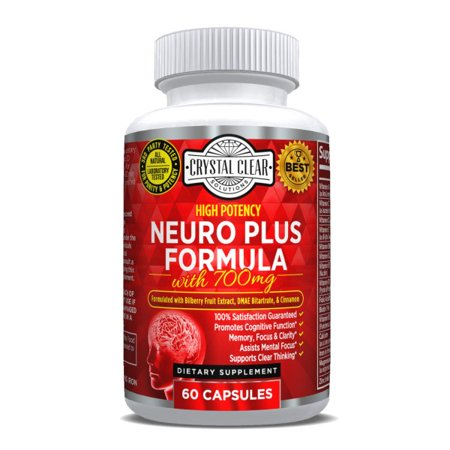 CCS Neuro Plus Focus and Memory Supplement Premium Brain Function Support, Nootropic Scientifically Formulated for Optimal Performance, 60 caps