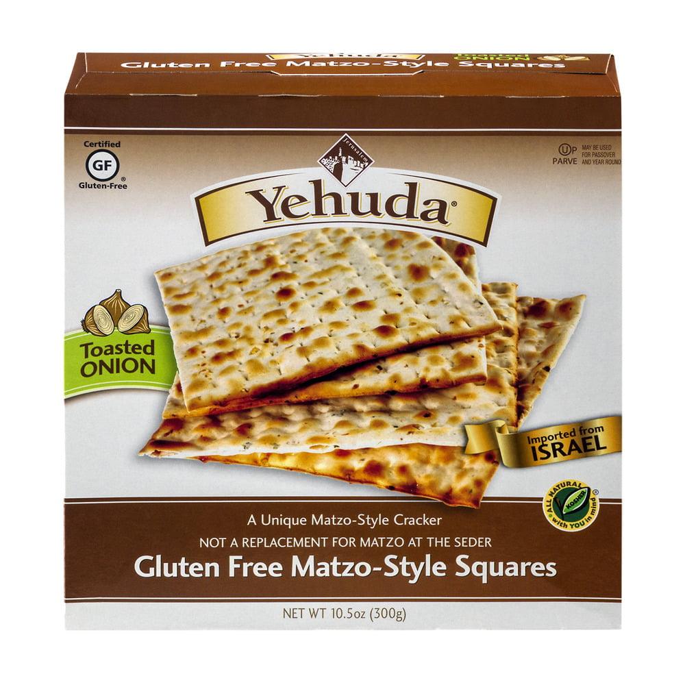 Yehuda Gluten Free Matzo-Style Squares, 10.5 OZ