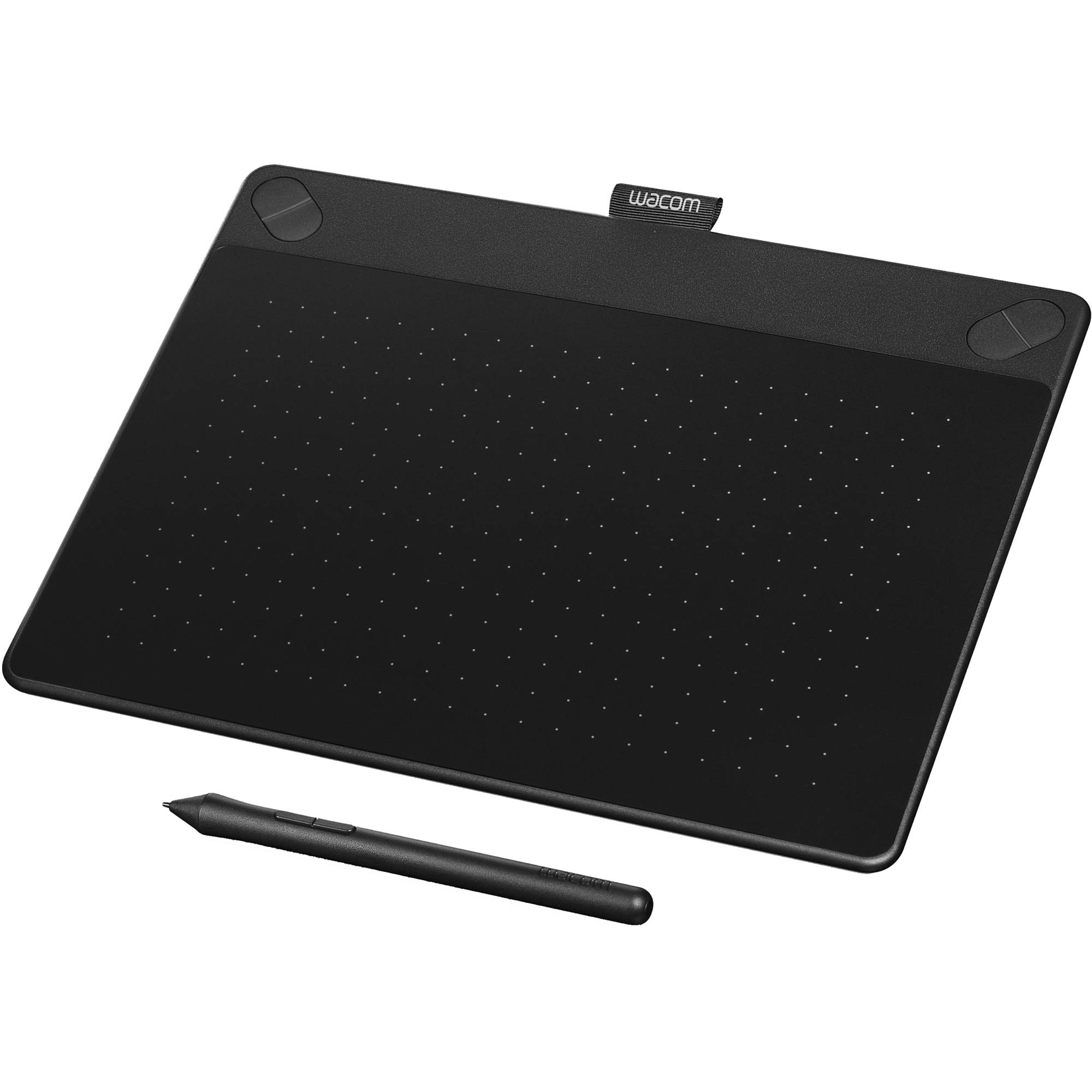 Wacom Intuos 3D Pen & Touch, Black, Medium, Software Included (CTH690TK) by Wacom