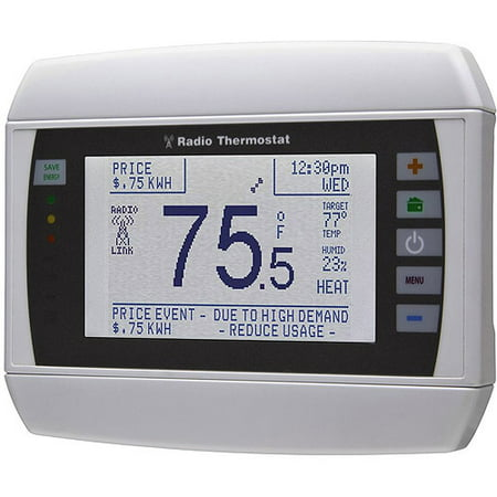 Radio Thermostat CT80 Smart Thermostat (U-SNAP Module Not Included), No Hub Required