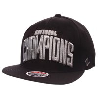 Villanova Wildcats Zephyr 2016 NCAA Men's Basketball National Champions Snapback Adjustable Hat - Black - OSFA