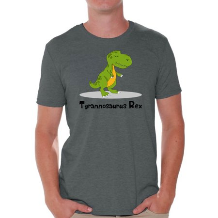 Awkward Styles Tyrannosaurus Rex Dinosaur Shirt Dinosaur Tshirt for Men Dinosaur Birthday Party Dinosaur Gifts for Him Funny Spirit Animal Shirt Men's Dinosaur Outfit Tyrannosaurus Rex Shirt ()