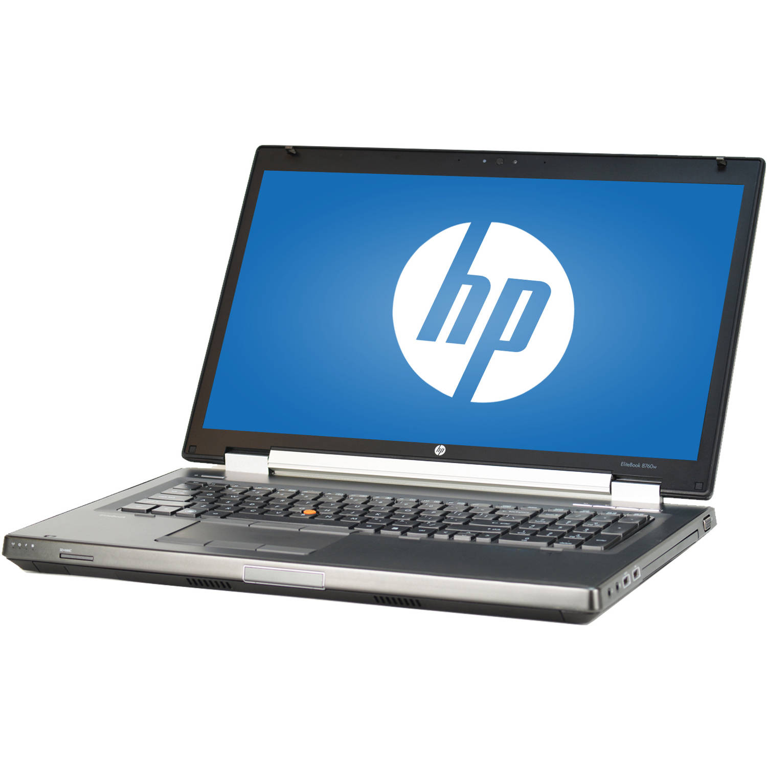 "Refurbished HP Silver 17.3"" 8760W Elitebook Laptop PC with Intel Core i7-2720QM Processor, 8GB Memory, 500GB Hard Drive and Windows 7 Professional"