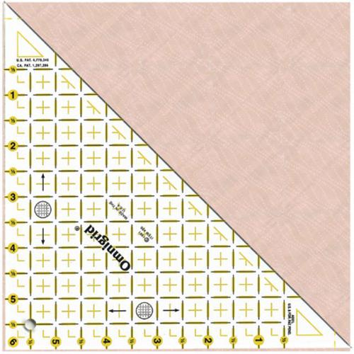 """Omnigrid Right Triangle-Up To 6"""" Sides"""