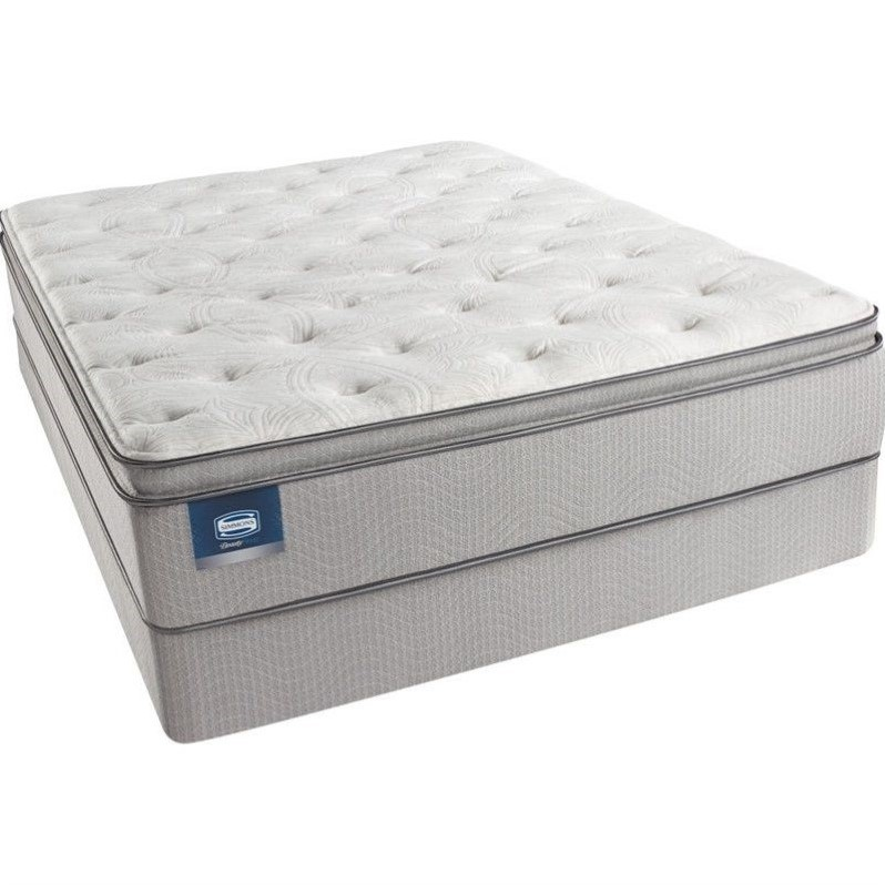 Pillow Top Mattress Queen On Beautysleep Adrian Ave Plush Pillow Top Mattressqueen Walmartcom