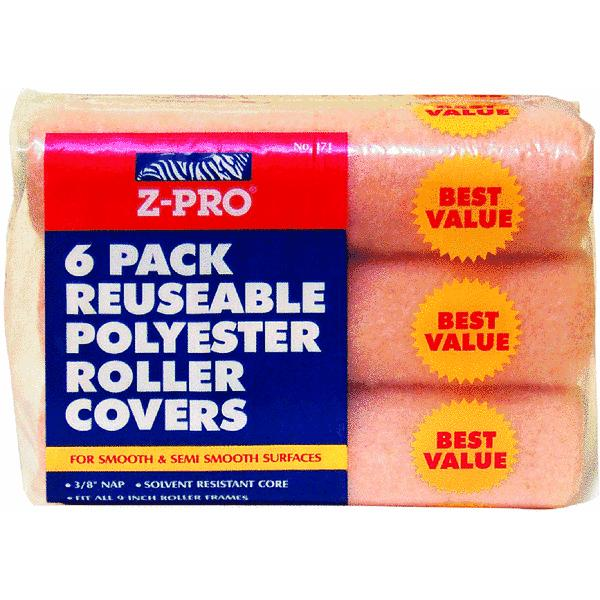 Z-Pro 6 Pack Knit Fabric Roller Cover
